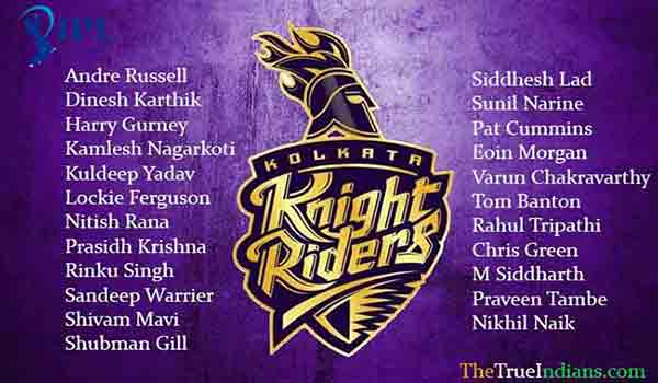 kkr-full-squad-list